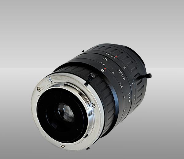 UV camera lens 85 mm f/2.8