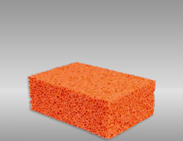 Sponge to apply speckle pattern